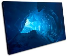 Ice Cave Blue Landscapes - 13-0231(00B)-SG32-LO